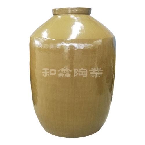 青釉陶瓷酒坛