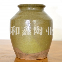 土陶储物罐