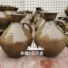 10斤土陶酒壶