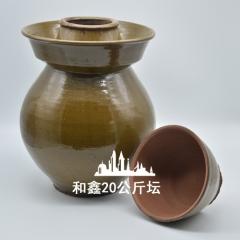 40斤土陶泡菜坛