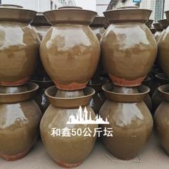 100斤土陶泡菜坛