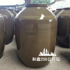 500斤土陶酒坛